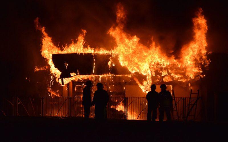 Fire in School in Edinburgh